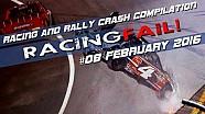 Carreras y Rally Crash compilación semana 08 de febrero de 2016