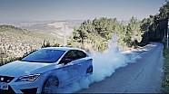 Seat Leon Cupra 290: burnouts & sound
