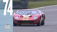 Gorgeous GT40s tear up Goodwood
