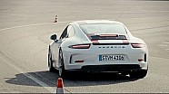 Driving lessons with the 911 R - Lesson 4: Ideal line
