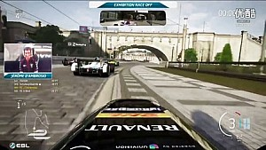 D'Ambrosio vs Bird Forza 6 Race Off (Behind The Scenes) - Formula E