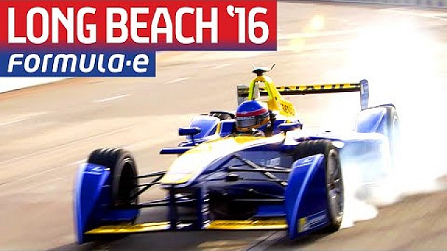 Long Beach 2016 Free Practice Highlights - Formula E