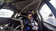 Les premiers tours de Sébastien Loeb avec la Peugeot 208 WRX