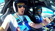 L'attore Austin Stowell sulla BMW i8 in USA