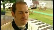 Jacques Villeneuve dans la Ferrari de son père à Goodwood