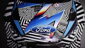 Ken Block en Andreas Bakkerud's met hun nieuwe wapens: Ford Focus RS RX