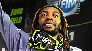 2016 - Race Day LIVE! - Detroit - Malcolm Stewart on the Podium