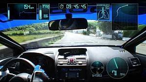 Круг по трассе на острове Мэн на Subaru WRX STI