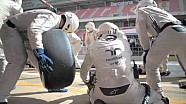 Williams pitstop