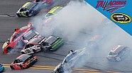 The 'big one' strikes at Talladega, collecting 21 cars