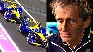 Alain Prost Explains Renault e.dams' Struggles - Formula E