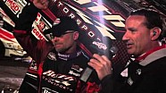 2016 World of Outlaws Craftsman Sprint Car Series Victory Lane from Jacksonville Speedway