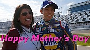 Life lessons from mom, drivers celebrate Mother's Day