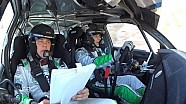 FIA ERC - Seajets Acropolis Rally - SS2 Sirmacis On Board Camera