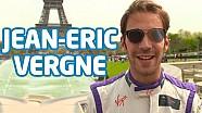 ePrix Paris - Un jour dans la vie de... Jean-Eric Vergne