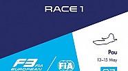 F3 Europe - Pau 2016 - Course 1