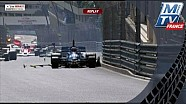 Исторический McLaren M23 уронили с высоты 10 метров в Монако