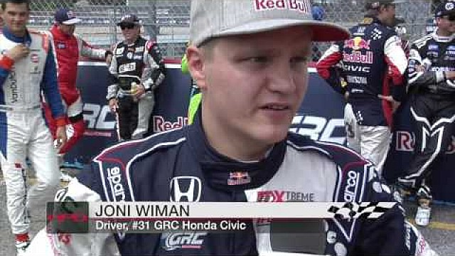 HPD Trackside -- Dallas Red Bull Global Rallycross