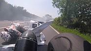 Che brivido per Horst Saiger al TT: evita Jamie Cowton per un soffio!