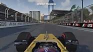 F1 2016 - Un tour de Bakou avec Jolyon Palmer