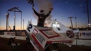 2016 World of Outlaws Craftsman Sprint Car Series Victory Lane from Brown County Speedway