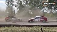 Аварія на 1-му етапі ЧУ з кільцевих перегонів на треку