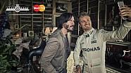 Detrás de las escenas: Keanu Reeves, Rosberg y Lord March en FOS