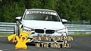 Atrapar a Pokémon en Nürburgring en un Ring Taxi