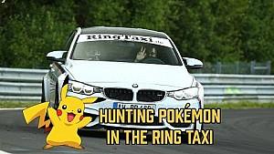 Pokémon vangen op de Nürburgring met de Ring Taxi