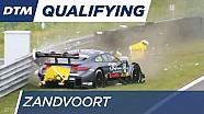 Goetz crashes into the barrier - DTM Zandvoort 2016