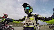 Valentino Rossi entrenamiento en MotoRanch