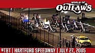 #ThrowbackThursday: World of Outlaws Craftsman Sprint Cars Hartford Speedway July 27, 2005
