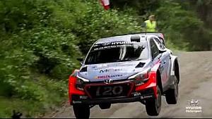Rally Finlandia mejores saltos