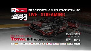 24h of Spa 2016 - PART 1b - 22:47h until 19:47 hours remaining