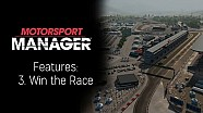 Motorsport Manager Features: 3. Win the Race
