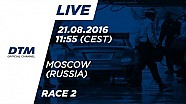 LIVE: Race 2 - DTM Moscow 2016