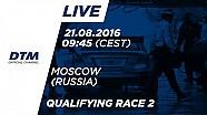 DTM Moskova 2016 - 2. Yarış Sıralama Turları