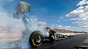 Brittany Force gets her THIRD win of the season in Brainerd