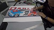 Sam Bass Draws Ryan Reed's Darlington throwback