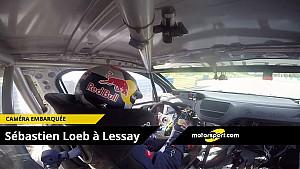 Sébastien Loeb Onboard camera on the Lessay circuit