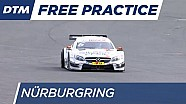Wickens' without rear wheel - DTM Nürburgring 2016