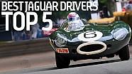 I 5 piloti top nella storia della Jaguar
