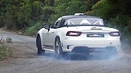 Primo test - FIAT 124 Abarth R-GT