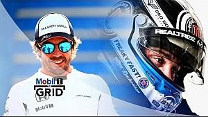 NASCAR vs F1 – Jenson Button, Fernando Alonso & Kevin Harvick En durabilidad | Mobil 1 The Grid