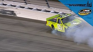 Townley's Chase hopes ended with late wreck