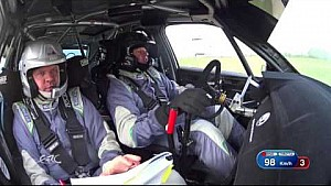 FIA ERC - Rally Liepaja SS2 OBC Jeets with data