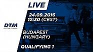 Наживо: Кваліфікація (Гонка 1) - DTM Будапешт 2016