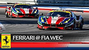 WEC – The double Ferrari podium at the 6 Hours of COTA