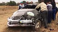 Наслідки жахливої аварії екіпажу: Руслан Топора- Марини Перовой # 3