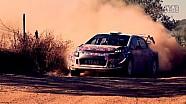 雪铁龙C3 WRC赛车测试